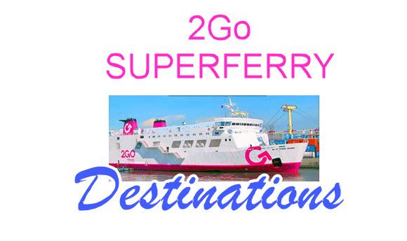 2Go destinations